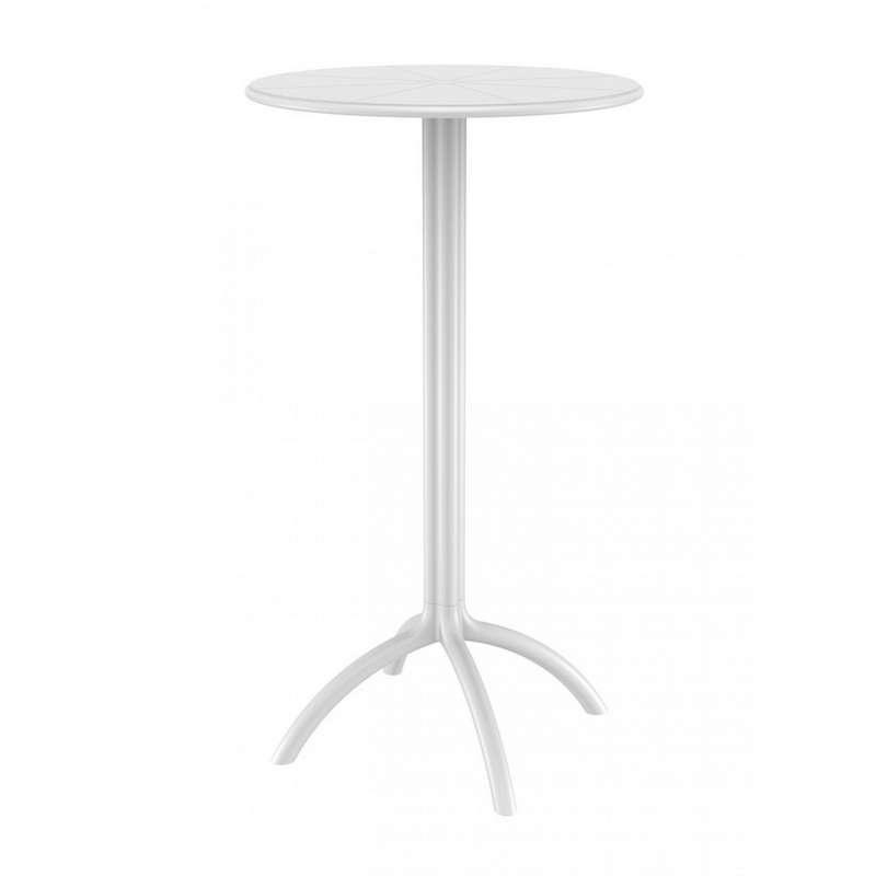 table mange debout blanc design